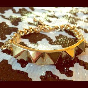 Pyramid ID Bracelet